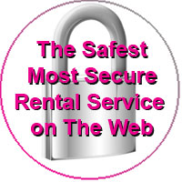 The most secure rental service on the web