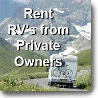 Rent RV's from Private Owners